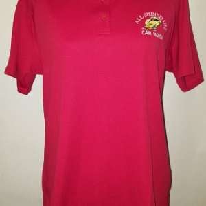 Women's Polo Red Button